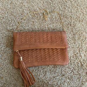 Urban Expressions certified vegan handbag tassel